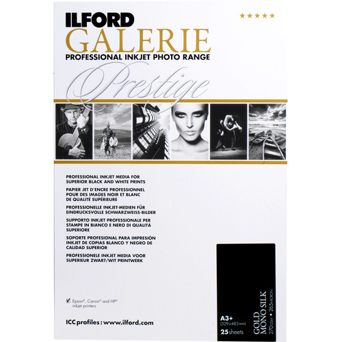 Ilford Gold Mono Silk Paper