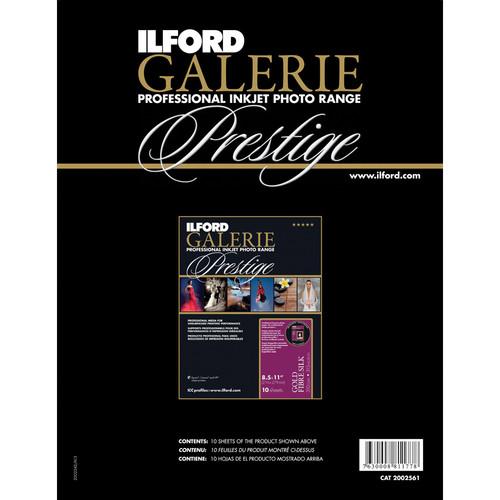 "Ilford GALERIE Prestige Gold Fibre Silk Paper Sample Pack (8.5 x 11"", 5 Sheets)"