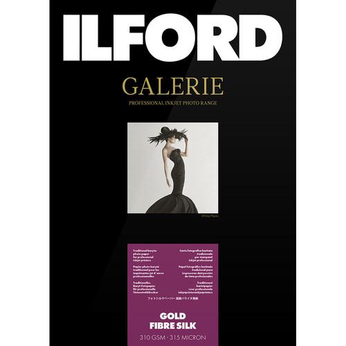"""Ilford GALERIE Prestige Gold Fibre Silk Paper (5 x 7"""", 50 Sheets)"""