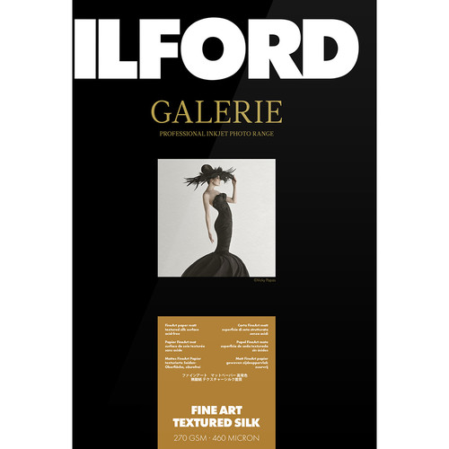 "Ilford Galerie Fine Art Textured Silk (5 x 7"", 50 Sheets)"