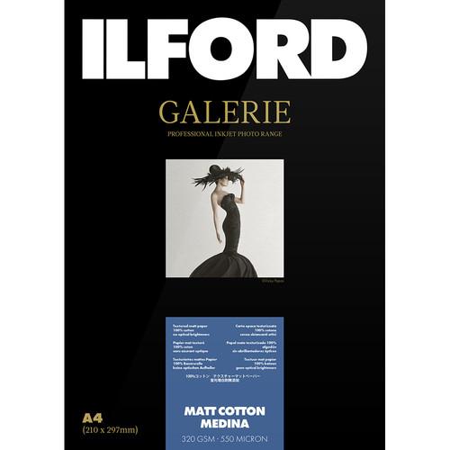 "Ilford Galerie Matte Cotton Medina Paper (4 x 6"", 50 Sheets)"
