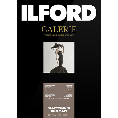 "Ilford GALERIE Prestige Heavyweight Duo Matt Paper (13 x 19"", 50 Sheets)"