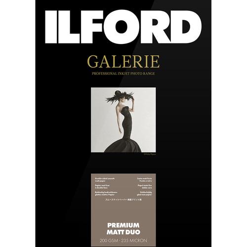 "Ilford Galerie Premium Matte Duo (8.5 x 11"", 50 Sheets)"