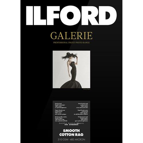 "Ilford GALERIE Prestige Smooth Cotton Rag FineArt Paper (50"" x 49' Roll)"