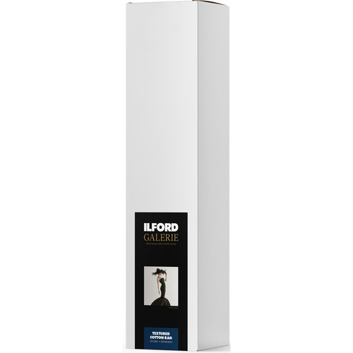 "Ilford GALERIE Prestige Textured Cotton Rag FineArt Paper (50"" x 49' Roll)"