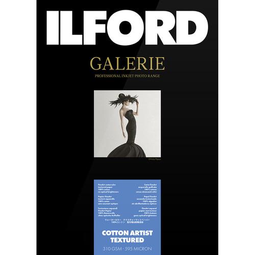 "Ilford GALERIE Prestige Cotton Artist Textured Paper (13 x 19"", 25 Sheets)"