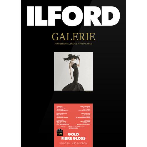 """Ilford GALERIE Prestige Gold Fibre Gloss Paper (17 x 22"""", 25 Sheets)"""