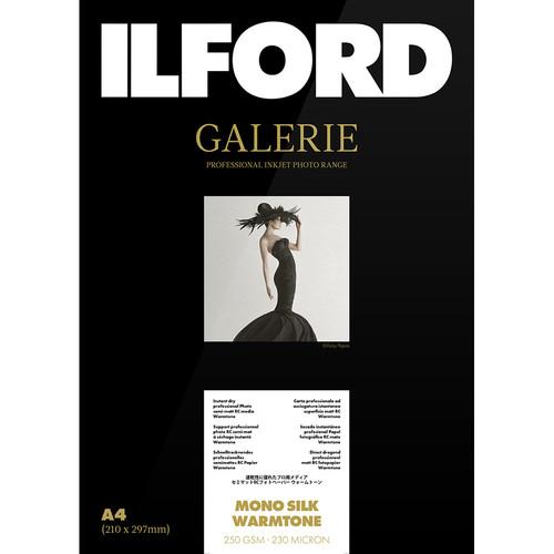 """Ilford Galerie Mono Silk Warmtone 8.5x11"""" (25 Sheets)"""