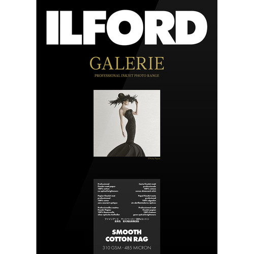 "Ilford GALERIE Prestige Smooth Cotton Rag (36"" x 49' Roll)"