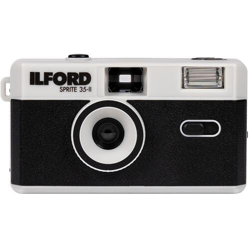 Ilford Sprite 35-II Film Camera (Black & Silver)