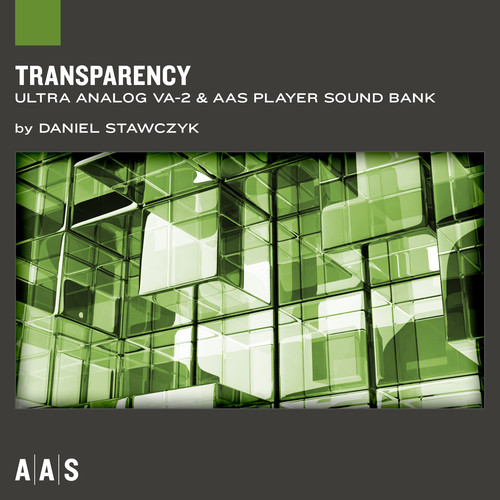 Applied Acoustics Systems Transparency - Ultra Analog VA-2 Sound Bank (Download)