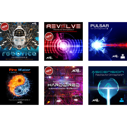 ILIO Patch Library Bundle for Spectrasonics Omnisphere 2 Virtual Synthesizer (Download)
