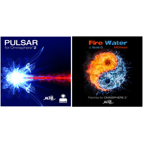 ILIO Pulsar + Fire Water Patch Library Bundle - For Omnisphere 2 (Download)