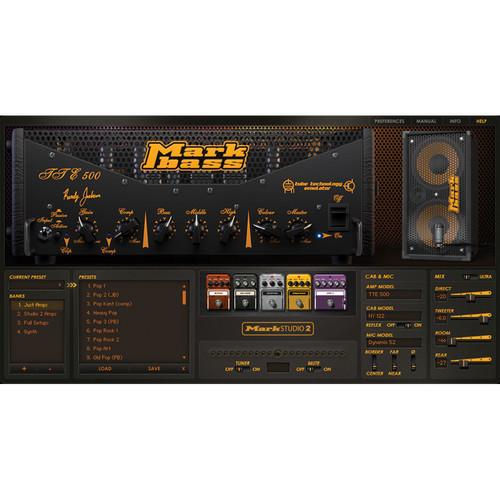 ILIO Mark Studio 2 Bass Amp Simulator