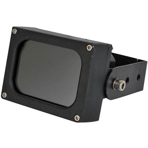Iluminar IRC132 Series Short Range 850nm IR Illuminator for True Day/Night CCTV Camera (120°, Black)