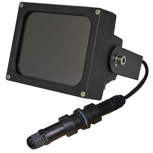 Iluminar IRC200-PoE Medium-Range IR Illuminator (850nm, 15°, Black)