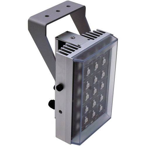 Iluminar WL436 Series Long-Range White Light Illuminator (92', 120°, Silver)