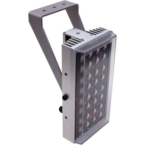 Iluminar WL643 Series Super Long-Range White Light Illuminator (166', 100° x 50°, Silver)