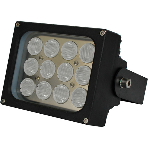 Iluminar WLC150 Series Medium-Range White Light Illuminator (26', 120°, Black)