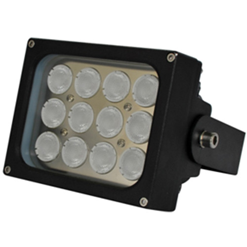 Iluminar WLC150-PoE Series Medium-Range White Light Illuminator (43', 90°, Black)