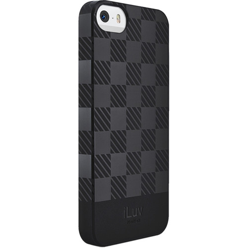 iLuv Gelato Case for iPhone 5/5s/SE (Black)