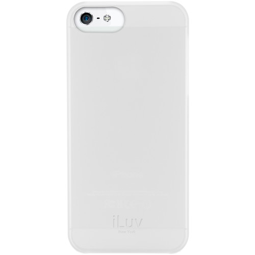 iLuv Overlay Case for iPhone SE (White)