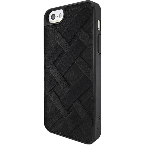 iLuv Tangle Case for iPhone SE (Black)