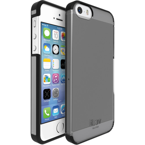 iLuv Vyneer Case for iPhone SE (Black)