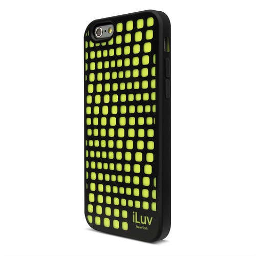 iLuv Aurora Wave Glow-in-the-Dark Case for iPhone 6/6s (Black)