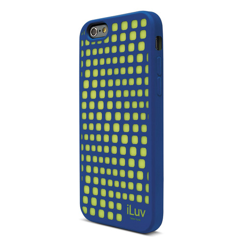 iLuv Aurora Wave Glow-in-the-Dark Case for iPhone 6/6s (Blue)