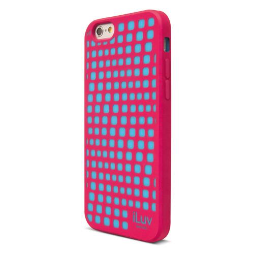 iLuv Aurora Wave Glow-in-the-Dark Case for iPhone 6/6s (Pink)