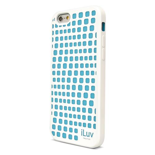 iLuv Aurora Wave Glow-in-the-Dark Case for iPhone 6/6s (White)
