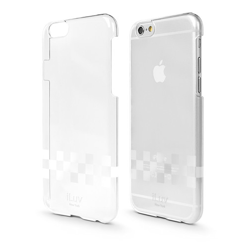 iLuv Gossamer Clear Hardshell Case for iPhone 6/6s