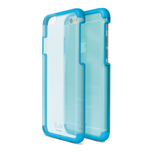 iLuv Vyneer Case for iPhone 6/6s (Blue)