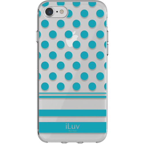 iLuv DotStyle Case for iPhone 7/8 (Blue)