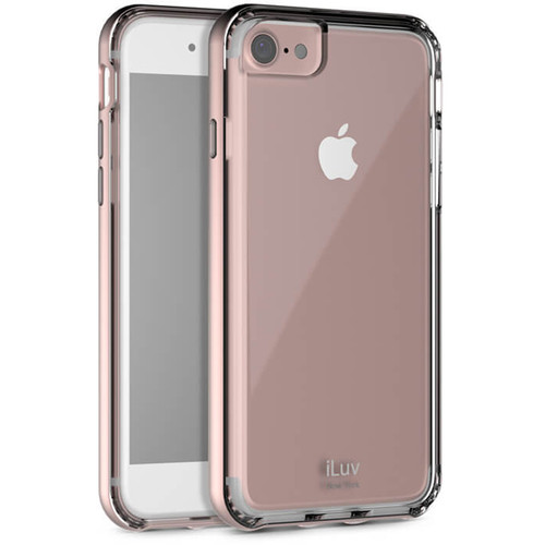 iLuv Metal Forge Case for iPhone 7 (Pink)