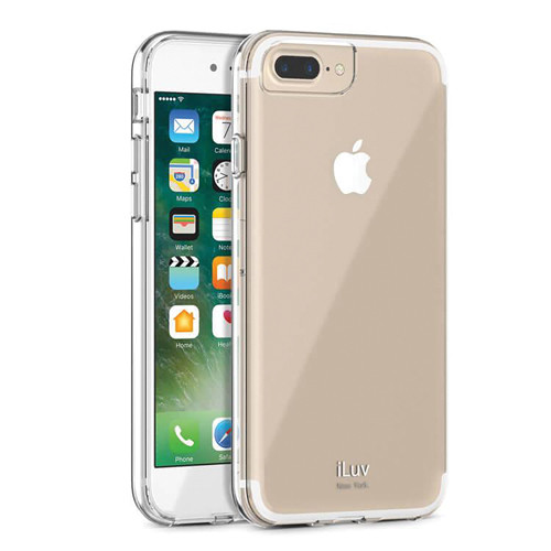iLuv Vyneer Case for iPhone 7 Plus/8 Plus (Clear)