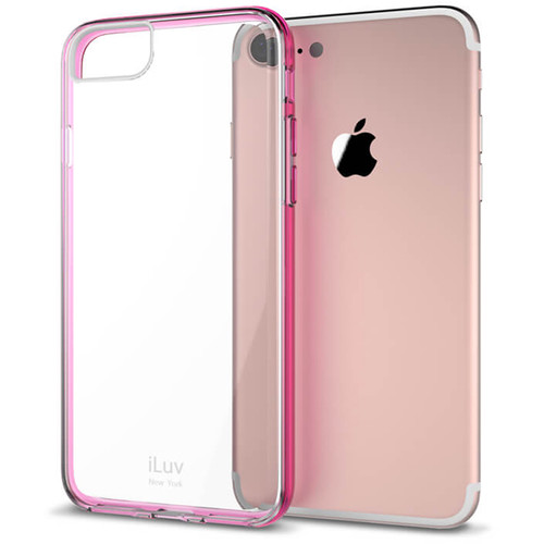 iLuv Vyneer Case for iPhone 7 Plus/8 Plus (Pink)