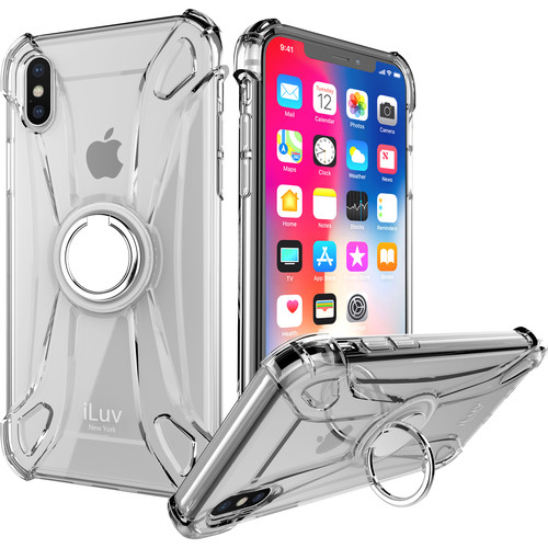 iLuv Crystal Ring Case for iPhone X/Xs