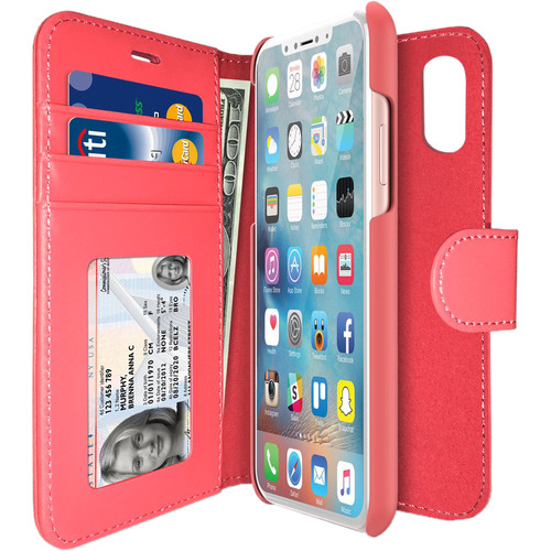 iLuv Diary Case for iPhone X/Xs (Pink)