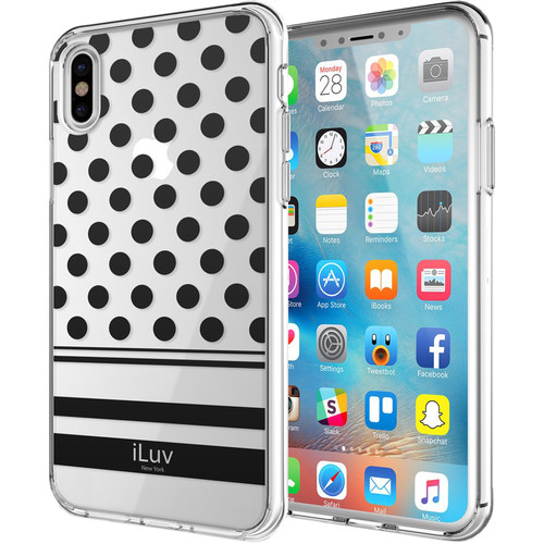 iLuv DotStyle Case for iPhone X (Black)