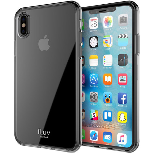 iLuv Vyneer Case for iPhone X (Black)