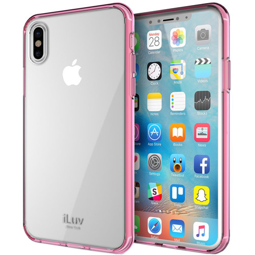 iLuv Vyneer Case for iPhone X/Xs (Pink)