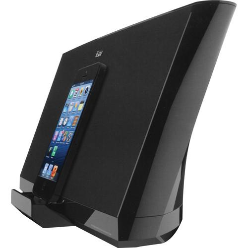 iLuv High-Fidelity Speaker and Lightning Dock for iPhone 5 (Black)