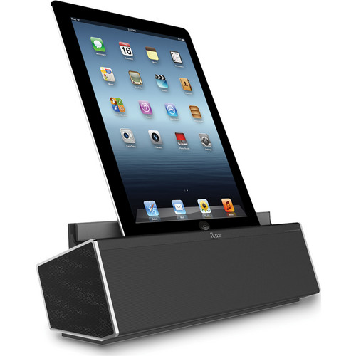 iLuv Mo'Beats HD Rechargeable Bluetooth Speaker with Viewing Cradle