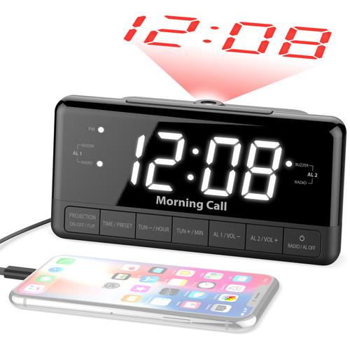 iLuv Morning Call 3 Projection Clock Radio