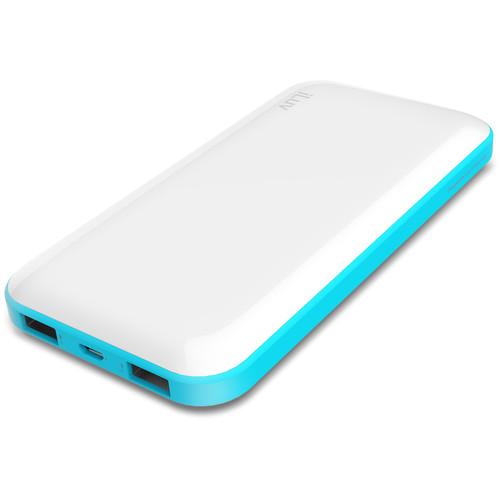 iLuv myPower100 10,000mAh Slim Portable Battery Pack (White)