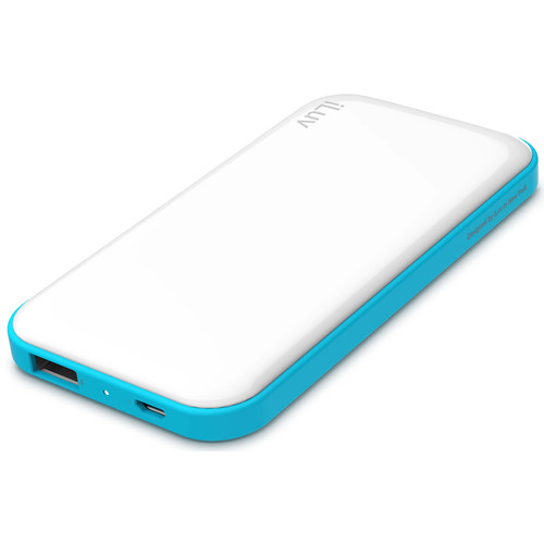 iLuv myPower50 5000mAh Slim Portable Battery Pack (White)