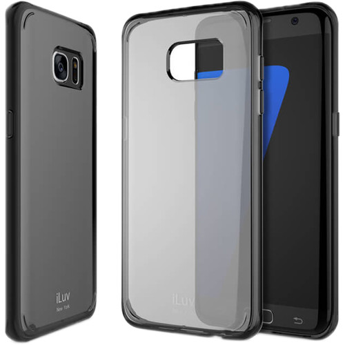 iLuv Vyneer Case for Galaxy S7 edge (Black)