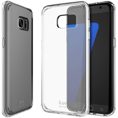 iLuv Vyneer Case for Galaxy S7 edge (Clear)